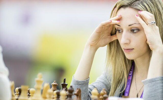 hottest female chess players