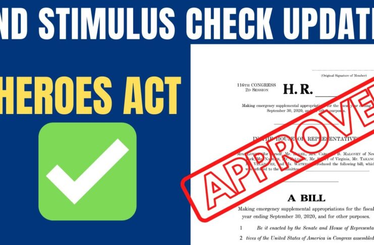 stimulus check round two approved