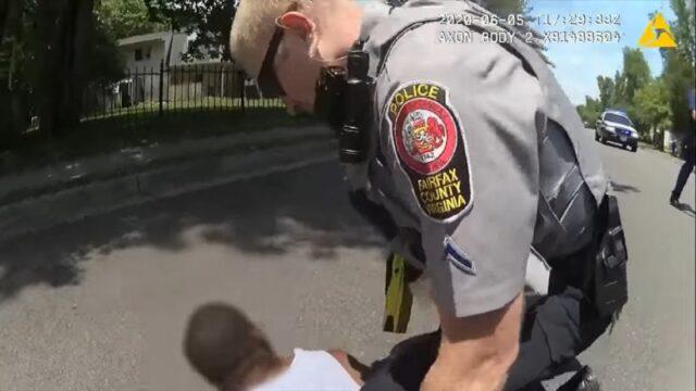 white cop tases black guy