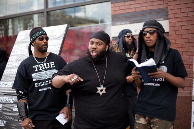 black jewish tensions