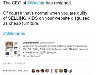 wayfair ceo steps down