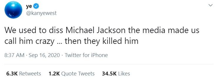 kanye michael jackson